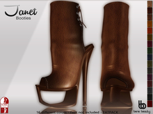 Bens Boutique - Janet Booties- Slink High Feet - Fatpack
