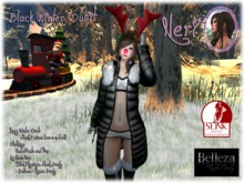 εїз ☆ Neri ☆ Black Winter Outfit ☆ εїз