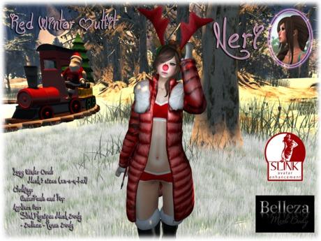 εїз ☆ Neri ☆ Red Winter Outfit ☆ εїз