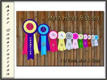 Horse Ribbons ( Mesh)