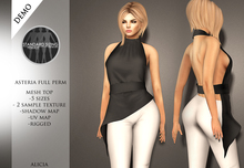 *Asteria Full Perm - Belted Top - DEMO