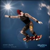 grafica ~ street skater (5 pose set)