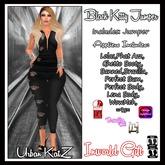 Black Kitty Jumper