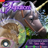 *Fig* Fancy Futurity Bridle Set 1.5 !HI! Pony ~ Texture/Color Changeor Hoof