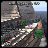 Bandit 60 text info HUD (boxed)
