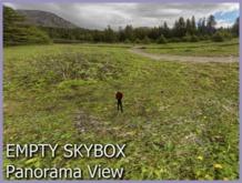 Skybox Green Mountain Empty