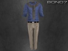 *BOND7* Lexington Outfit (Light Blue: HUD)