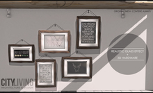 CITY LIVING - Wooden Frames & Prints Collection