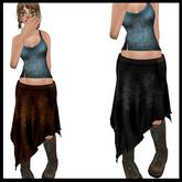 CHAVSHOPE - Ragged Hem Skirts 1