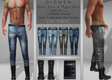 G I O M E N - Kronos Jeans + Boots -Two Type- [FAT PACK] HUD