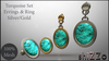 [ShiZZo] - Turquoise Set Silver/Gold