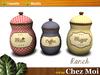 Set Ranch Jars ♥ CHEZ MOI