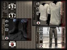 MESHCENTER - Casanova full outfit white