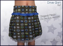 Dove Skirt - Owls