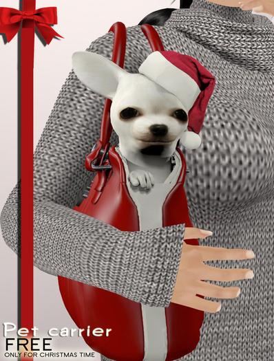 TuTy's - Pet Carrier - Christmas Gift