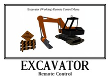 Excavator <--> Remote Control <--> Under Construction