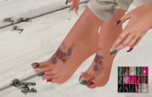 ~GD~Slay Belle's Ring(PEDI) - For Slink MID Feet