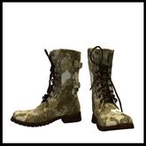 CHAVSHOP Army Camo Boots Desert