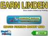 MAGIC FISHING MONEY HUD - Earn Linden by Fishing