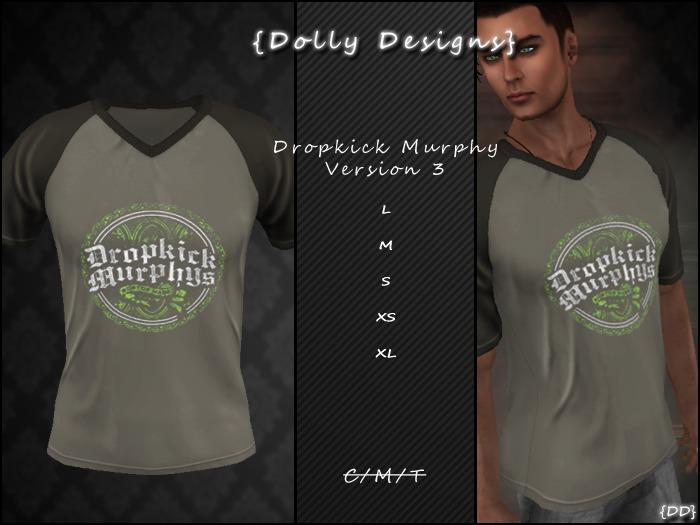 {DD} Drop Kick T-Shirt Version 3