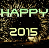 Animated Happy New Year 2015 Fire, Full Permision