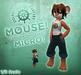 SEC Micro Mouse! (1/5 Scale) Super cute micro avatar!