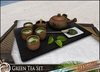 HeadHunter's Island - Green Tea plate decoration - animated drink giver/dispenser - 1 prim - Japanese tea ceremony -MESH