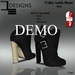 De designs colby ankle boots demo