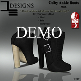 DE Designs - Colby Ankle Boots - DEMO