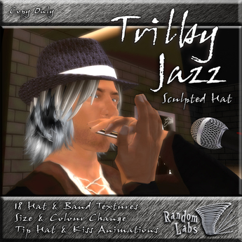 Trilby Jazz Sculpted Hat