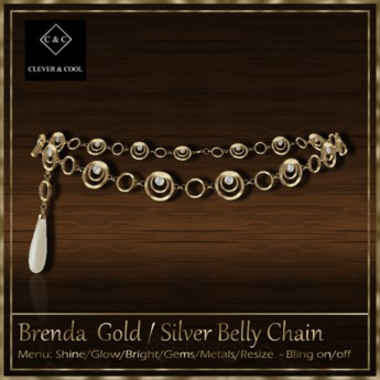 C&C - Brenda - Belly Chain