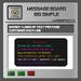 EMU Message Board Big Simple