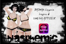 BAT Lingerie Set by BLASPHEMIC - Layer & Omega Applier included