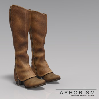 !APHORISM! Cavalry Boots - Tan