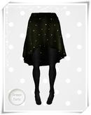 .::Y&R::.Backdrop Skirt Green Dots