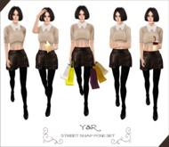 .::Y&R::. Street snap pose set(boxed)