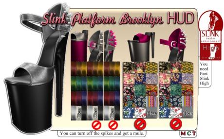 Slink Platform Brooklyn - NAKA + HUD (don't rezz)