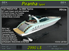 Piranha Sport White (boxed)