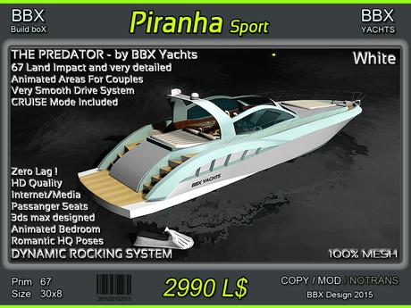 Yacht Piranha