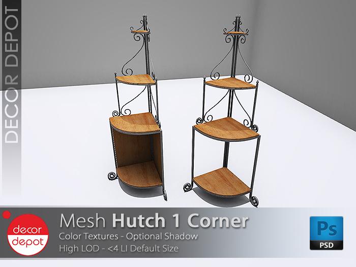 [DD] - FULL PERM  Hutch 1 Corner