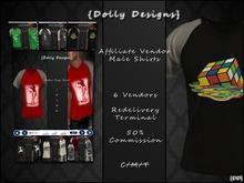 {DD} Caspervend Affilate Male Shirts