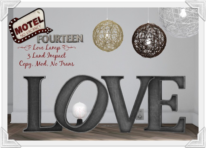 = MoteL 14 = Love Lamp