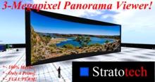 Panorama Viewer - 3 Megapixels (mesh) - Prim ONLY