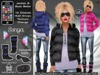 Sonya - Complete Winter Parka Outfit ::VoodooMonkey::