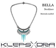 Klepsydra - Bella Necklace - Turquoise/Silver