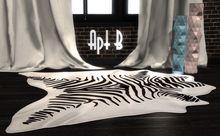 Apt B // Zebra Hide Rug
