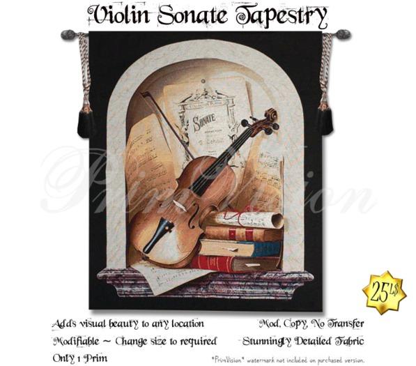 *PV* Violin Sonate Tapestry