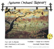 *PV* Autumn Orchard Tapestry
