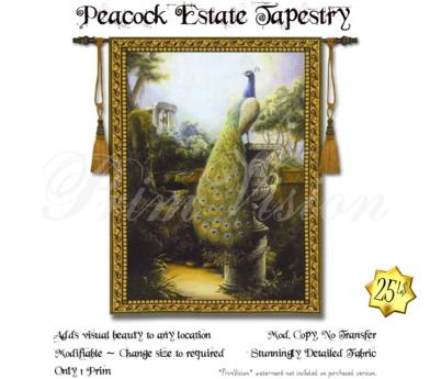 *PV* Peacock Estate Tapestry