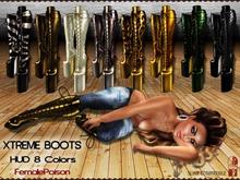 !FP! Xtreme Boots Hight Heels - HUD 8 Colors
